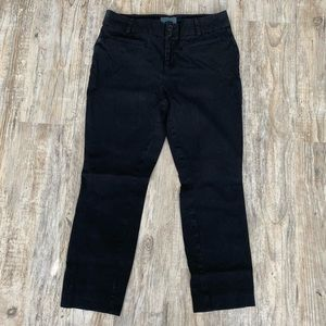 Anthropologie Pants - Anthropologie Cropped Chinos Black